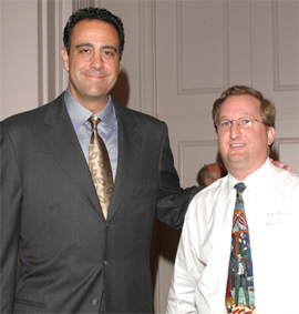 Marc Kruskol and Brad Garrett