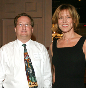 Marc Kruskol and Christine Lahti