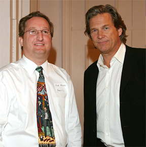 Marc Kruskol and Jeff Bridges