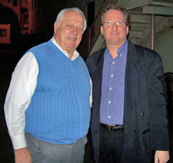 Marc with Tommy Lasorda