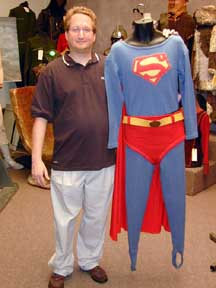 Marc Kruskol and superman